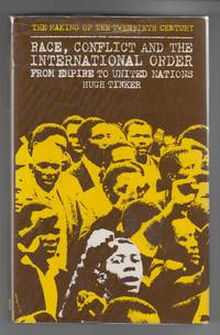 Race, Conflict and International Order