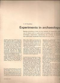 image of Experiments in archaeology from Science Journal  Volume 3, Number 11