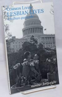 image of Common Lives/Lesbian Lives: a lesbian feminist quarterly; #48, Fall 1993