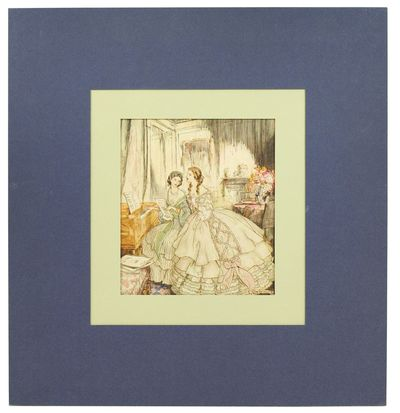 1936. Single offset color print, 5.25 x 6 inches, matted, originally tipped in. Fine. § A single il...
