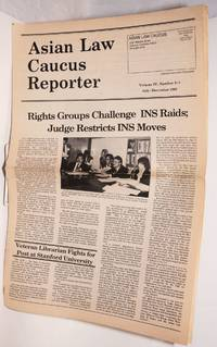 Asian Law Caucus reporter; July-December 1982