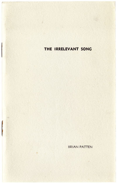 Surrey: Sceptre Press, 1970. First edition. Softcover. One of 100 copies although this copy is neith...
