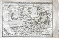 Karte von dem Reiche Hya U. Einem Stucke von Tangut. Aus Englischen Schriftstellern von N. Bellin...