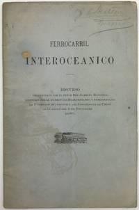 Ferrocarril Interoceanico. Discurso Pronunciado por el Señor Don Gabriel Mancera...