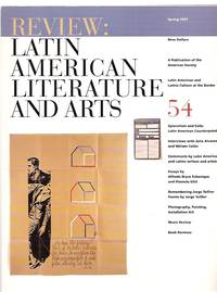 image of REVIEW: LATIN AMERICAN LITERATURE AND ARTS #54 SPRING 1997
