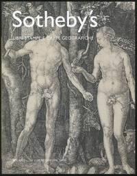Sotheby's Libri Stampe E Carte Geografiche: Milano, Lunedi 18 e Martedi 19 Novembre 2002