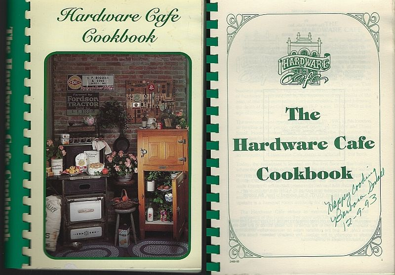 HARDWARE CAFE COOKBOOK, Small, Charles