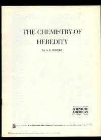 Scientific American: The Chemistry of Heredity by  A. E Mirsky - 1953 - from Little Stour Books PBFA (SKU: 29677)