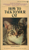 image of HOW TO TALK TO YOUR CAT (Signet  AJ-1167)