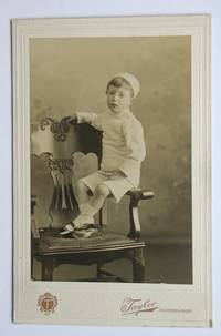 Cabinet Photograph: Studio Portrait of a Young Boy.
