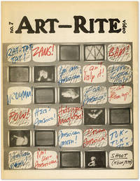 Art-Rite, Number 7, Autumn, 1974: Video