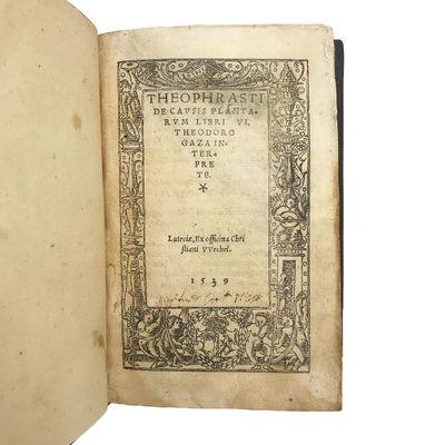 De causis plantarum libri VI....