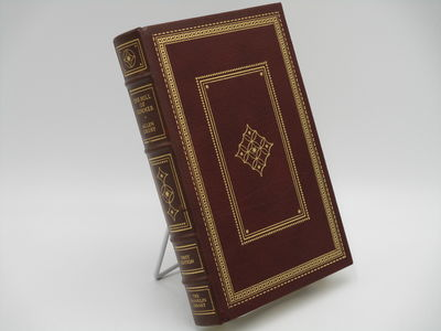 Franklin Center.: The Franklin Library., 1981. 1st Edition.. Full brown leather,raised bands, gilt d...