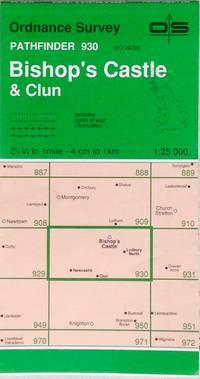 Pathfinder map sheet 930: Bishop's Castle & Clun