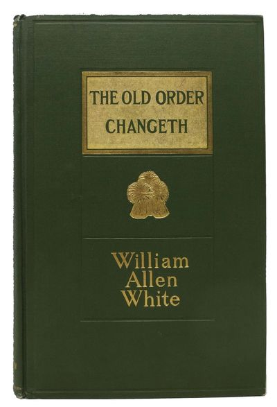 New York: The MacMillan Company, 1910. 1st edition. Presentation copy. Original green publisher's cl...
