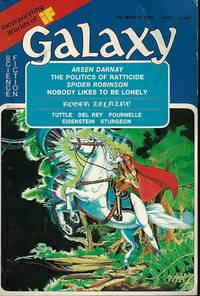 """GALAXY Science Fiction: March, Mar. 1975 (""""Sign of the Unicorn"""")"""