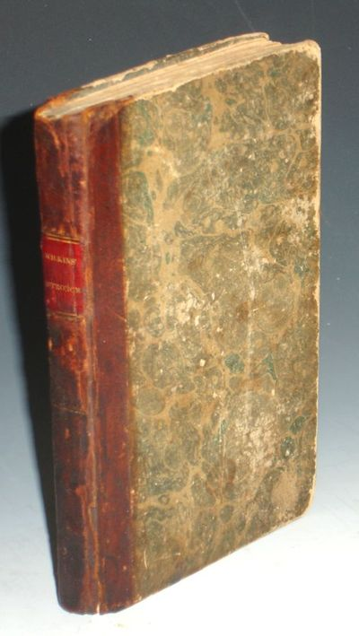 Boston: Hilliard, Gray, Little, and Wilkins, 1828. Small Octavo. viii, 152, 9 copper plates, foldout...