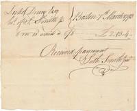 Autograph Document Signed
