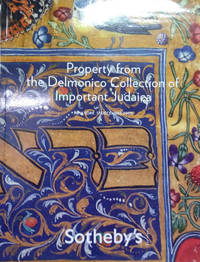 image of Property from the Delmonico Collection of Important Judaica:  Auction in  New York, Wednesday, December 17, 2008
