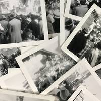 Collection of 17 Snapshots from Mardi Gras, 1954