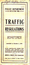BROCHURE - Police Department City of New York Traffic Regulations