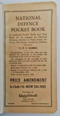image of National Defence Note Book.