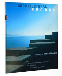 Architectural Record Magazine July 2002, 07/2002: Architecture for Remembrance: Monuments, Memorials. and Meaning