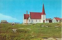 Canada – St. John's Anglican Church, Peggy's Cove, Nova Scotia, unused Postcard