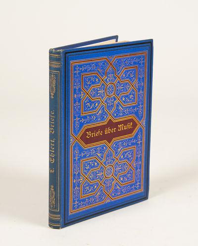 Berlin: B. Behr's Buchhandlung. (E. Bock), 1879. Small quarto. Highly decorative royal blue cloth wi...