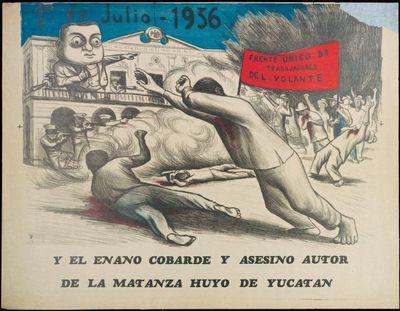 1o. DE JULIO 1936. FRENTE UNICO DE...