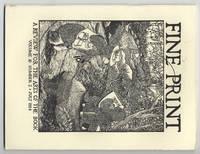image of Fine Print: Volume 10, Number 3, July, 1984