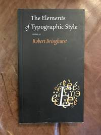 image of The Elements Of Typographic Style