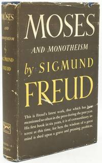 [PSCYHOLOGY] [FIRST EDITION] MOSES AND MONOTHEISM