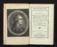 Bibliographie Instructive, ou Notice de quelques Livres rares, singuliers & difficile...