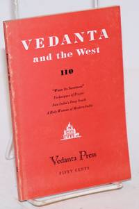 image of Waste its sweetness [In Vedanta and the West No. 110, Nov.-Dec.. 1954]