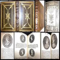 1526 IMPERATORUM ROMANORUM LIBELLUS HOLY ROMAN & GERMAN EMPERORS JOHANN HUTTICH 187 ILLUS. COINS CAESAR HISTORY FULL LEATHER