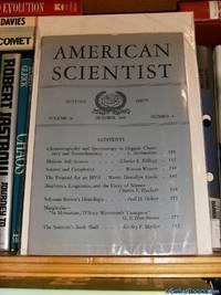 AMERICAN SCIENTIST Autumn Issue October, 1948 Volume 36 Number 4