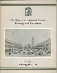 Old Master and Nineteenth Century Drawings and Watercolors. 7 January 1981.