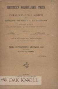 BIBLIOTHECA BIBLIOGRAPHICA ITALICA