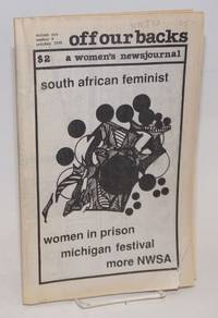image of Off Our Backs: a women's news journal; vol. 19, #9, October 1989; Women in Prison, South African Feminist