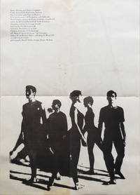 Announcement Poster for a 1960 Performance of the James Waring Dance Company and Guests Performing Peripateia and Tableaux at Fashion Institute