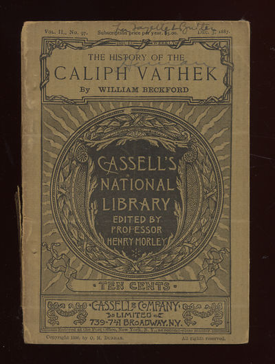 New York: Cassell, 1887. Softcover. Very Good. Reprint. Small owner name on the front wrap else very...
