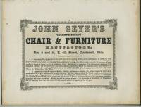 image of American Commercial Advertising - John Geyer's Western Chair_Furniture Manufactory