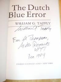The Dutch Blue Error A Brady Coyne Mystery