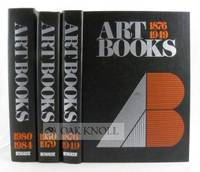 New York: R.R. Bowker, 1985. cloth. Art. small 4to. cloth. xviii,780; li,(i),1500 xx, 571 pages. 3 v...