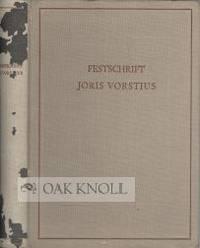 BIBLIOTHEK, BIBLIOTHEKAR, BIBLIOTHEKSWISSENSCHAFT. FESTSCHRIFT JORIS VORSTIUS