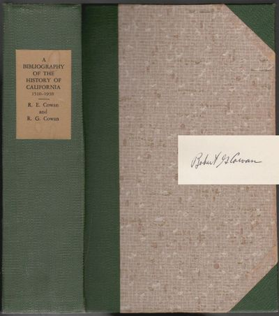 Los Angeles: John Henry Nash, 1964. Hardcover. Very Good. v, 926 pp, indexed. Bound in three-quarter...