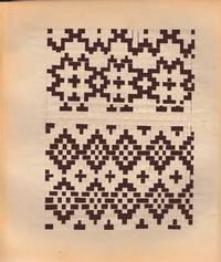 """image of """"Proplétání"""" (cover title, i.e. """"Flechtschule"""" of Czech origin). Leporello album of woven paper patterns"""