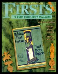 FIRSTS - The Book Collector's Magazine - Volume 8, number 6 - June 1998
