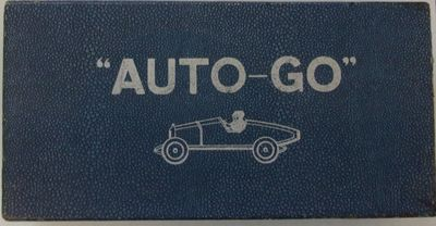 "AUTO GO,"" MOTOR RACE GAME"